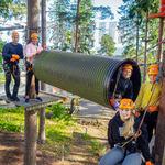 Perhelippu 4 hlö (1–2 aikuista + alle 15-v. lapset samasta taloudesta) - Flowpark Hämeenlinna